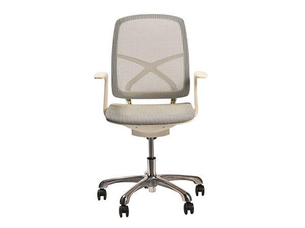 כסא משרדי דגם גריי לבן