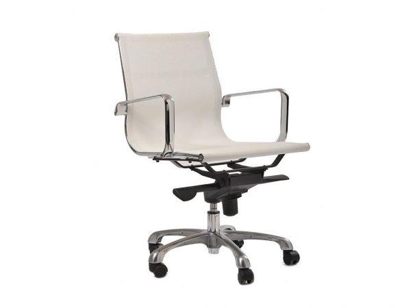 כסא דגם דלתא לבן - סטטוס ריהוט משרדי
