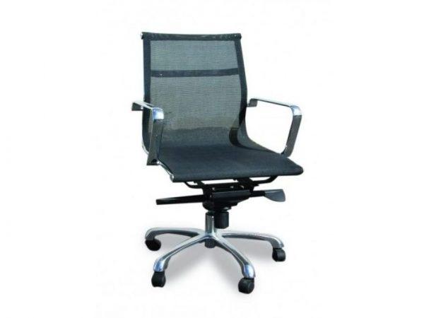 כסא דגם דלתא שחור - סטטוס ריהוט משרדי