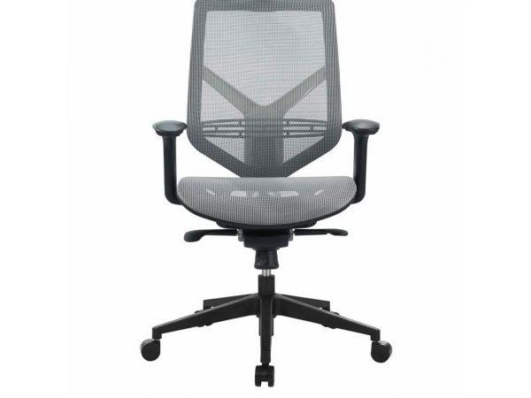 כסא משרדי דגם ויגו רשת אפור