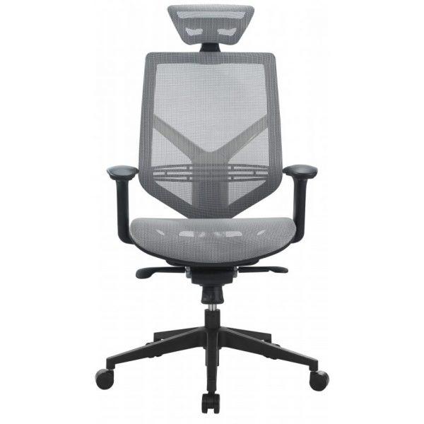 כסא דגם ויגו רשת אפור- סטטוס ריהוט משרדי