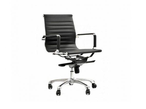 כסא דגם אומגה שחור- סטטוס ריהוט משרדי