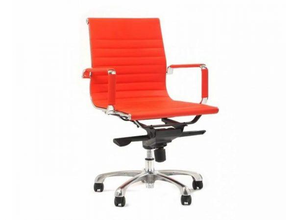 כסא דגם אומגה אדום - סטטוס ריהוט משרדי