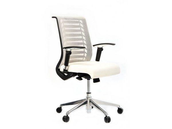 כסא משרד דגם רובר לבן- סטטוס ריהוט משרדי