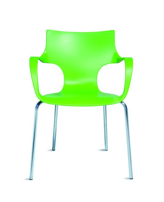 כסא פלסטיק דגם ג'ט ידיות- סטטוס ריהוט משרדי