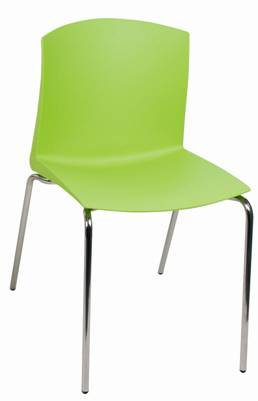 כסא פלסטיק דגם פול -סטטוס ריהוט משרדי