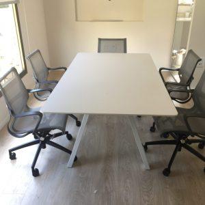 שולחן לחדר ישיבות דגם V