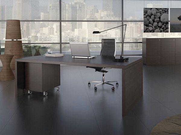 שולחן מנהל דגם דיפ- סטטוס ריהוט משרדי