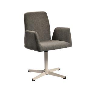 כסא דגם טיים בסיס לבן