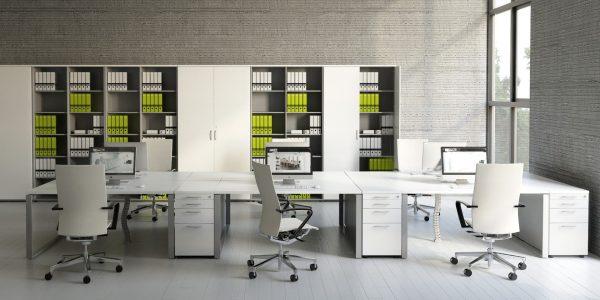 עמדות עבודה/ בנ'צ- סטטוס ריהוט משרדי