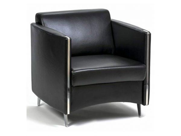 כורסא מדגם סול תלת עור - סטטוס ריהוט משרדי