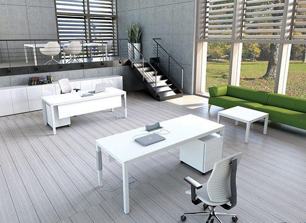 שולחן עבודה דגם סטטוס - סטטוס ריהוט משרדי