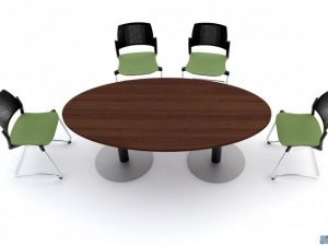 שולחן לחדר ישיבות דגם פורניר