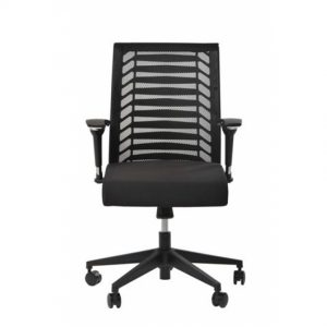 כסא משרד דגם רובר שחור