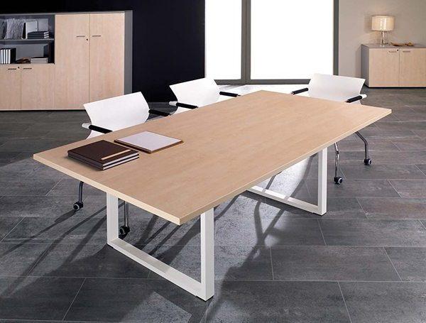 שולחן עבודה דגם Q - סטטוס ריהוט משרדי