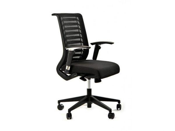 כסא משרד דגם רובר שחור- סטטוס ריהוט משרדי