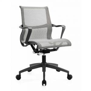 כסא דגם ויטרה רשת אפור