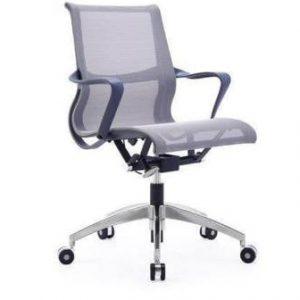 כסא דגם ויטרה רשת אפור בסיס ניקל
