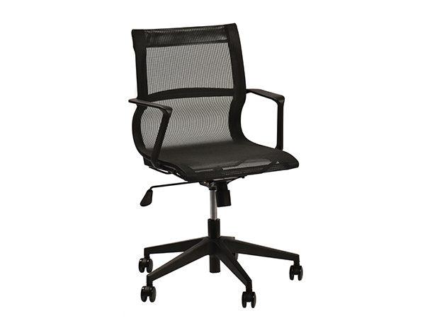 כסא דגם פולו שחור