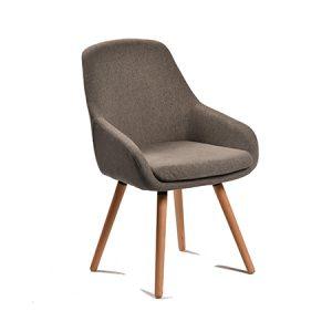 כסא דגם רטרו C אפור בהיר