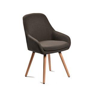 כסא דגם רטרו C אפור כהה